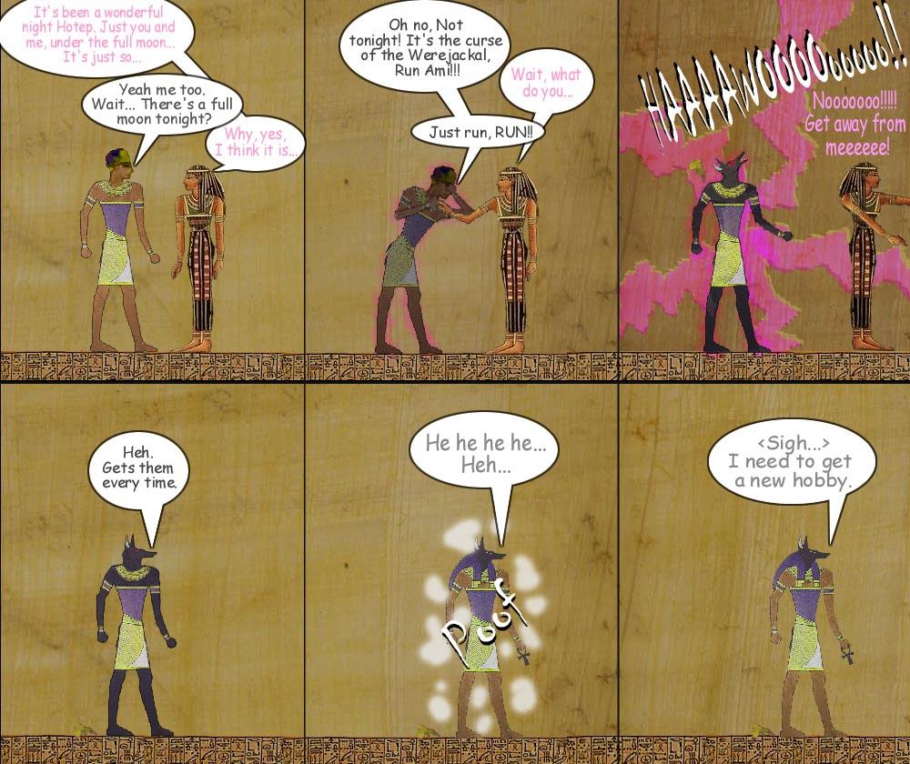 Anubis Thriller by ServerusTare