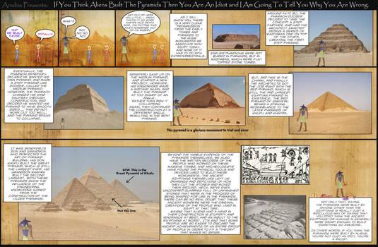 Anubis Presents: Alien Theorists are Idiots