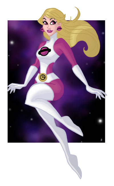 Saturn Girl by BigChrisGallery