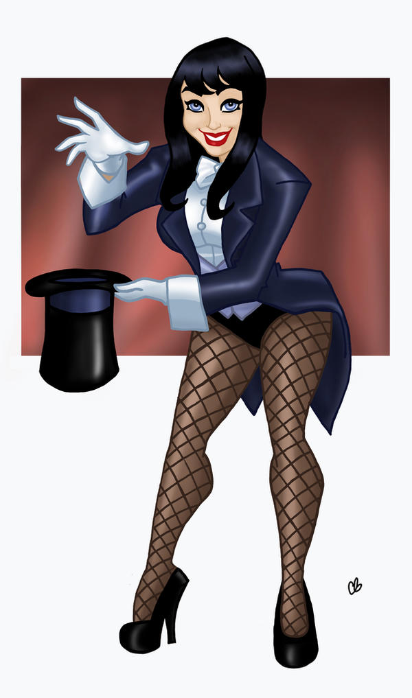 Zatanna, Mistress of Magic by BigChrisGallery