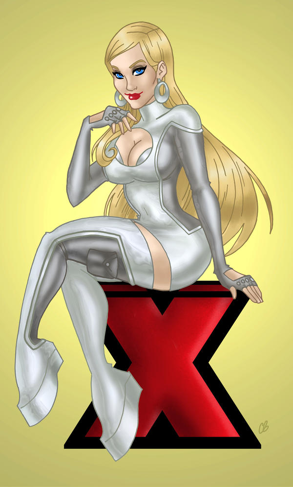 The Astonishing Emma Frost by BigChrisGallery