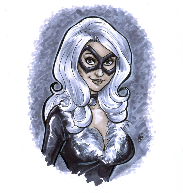 The Black Cat by BigChrisGallery