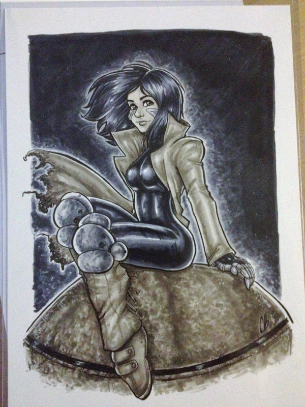 Battle Angel Alita by BigChrisGallery