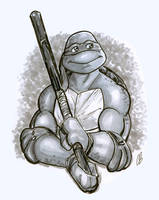 Donatello does machines by BigChrisGallery