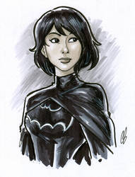 Cassandra Cain by BigChrisGallery