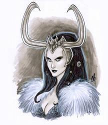 Lady Loki by BigChrisGallery