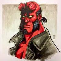Hellboy by BigChrisGallery