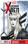 Uncanny X-men No. 1 Sketch Cover of Magik