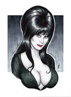 The Mistress of the Dark by BigChrisGallery