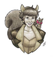 Squirrel Girl by BigChrisGallery