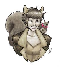 Squirrel Girl by BigChrisGallery