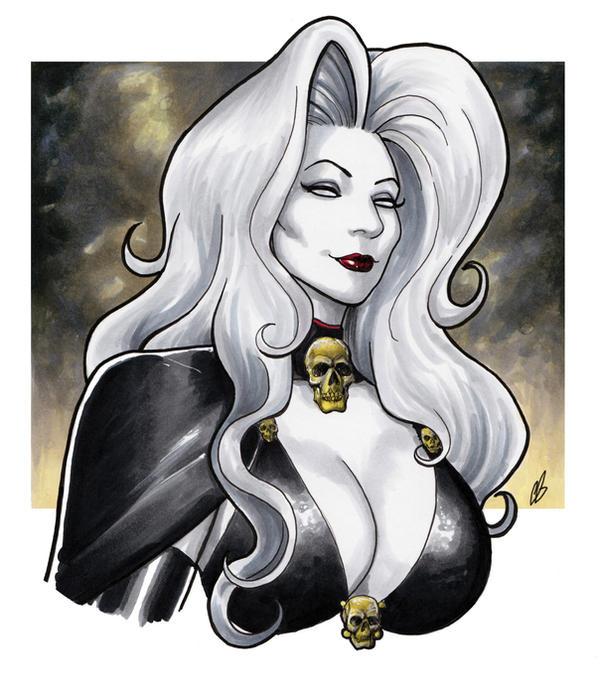 Lady Death by BigChrisGallery