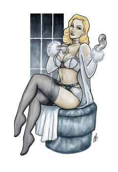 The Boudoir of Emma Frost