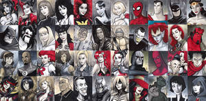 Sketch Cards 2016 Vol 2 by BigChrisGallery