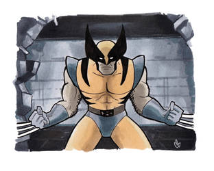 There You Are, Wolverine by BigChrisGallery