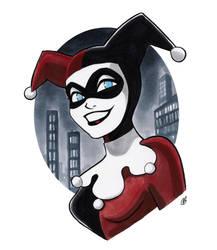 Harley in Gotham by BigChrisGallery