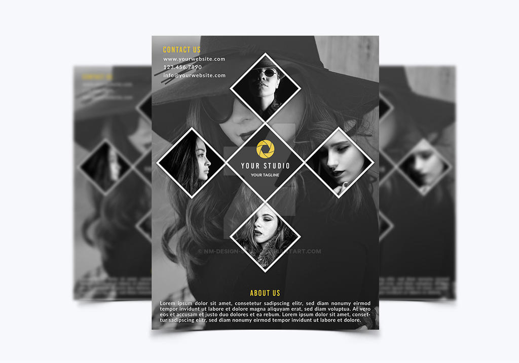 Photography Flyer Template By NMDesignStudio On DeviantArt - Photography brochure template