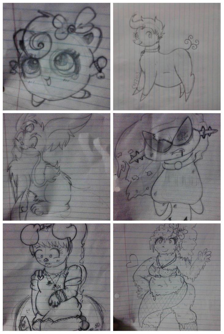 Sketchdump 2 by CeeNova