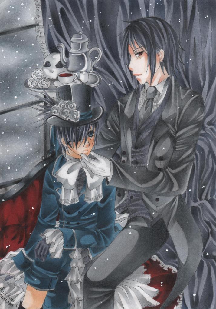 ::His Butler, so charming:: by Kirikana-Chan