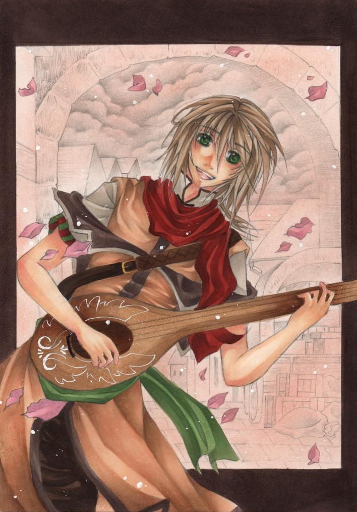 ::The Traveler:: by Kirikana-Chan