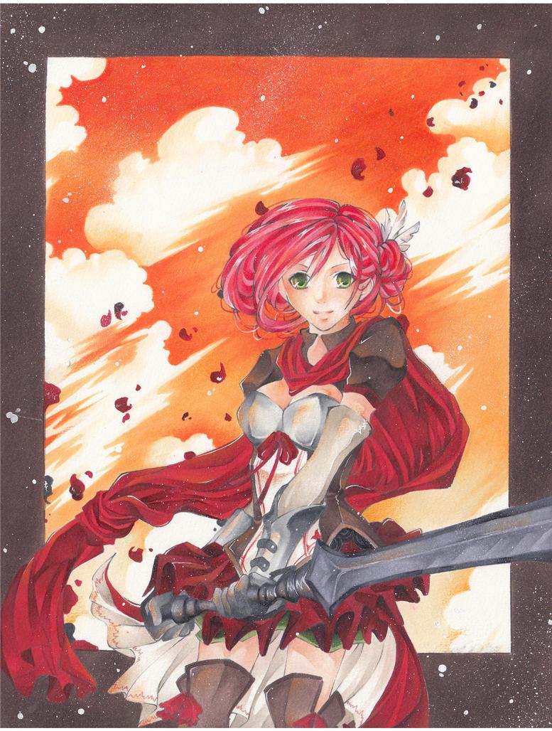 :Scarlet: by Kirikana-Chan