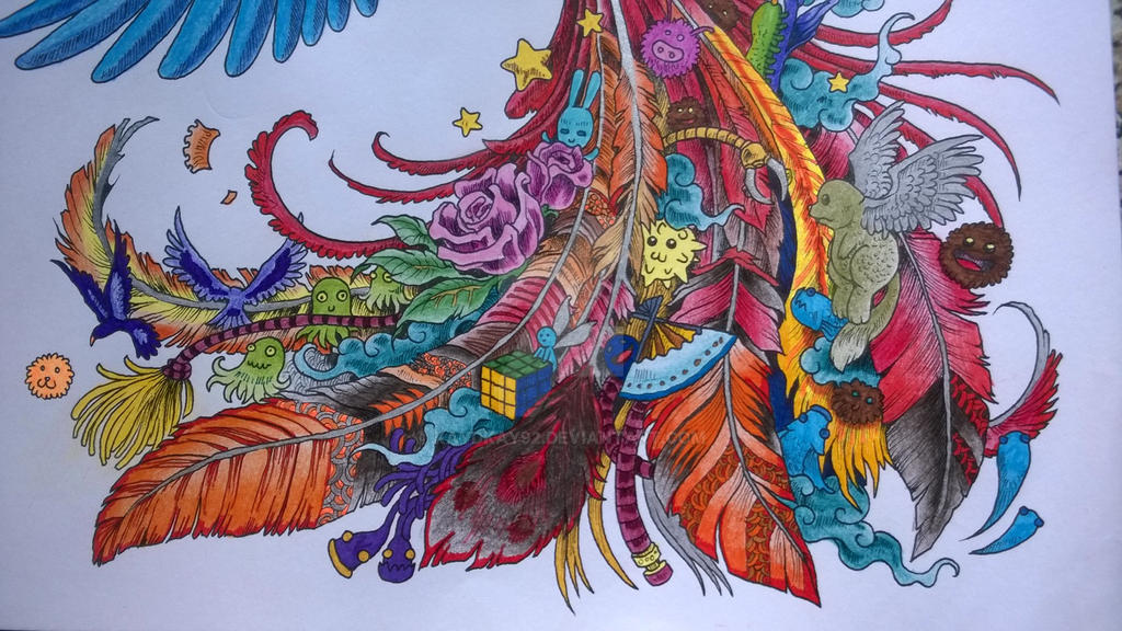 Megcowley 4 0 Animorphia Colouring Book