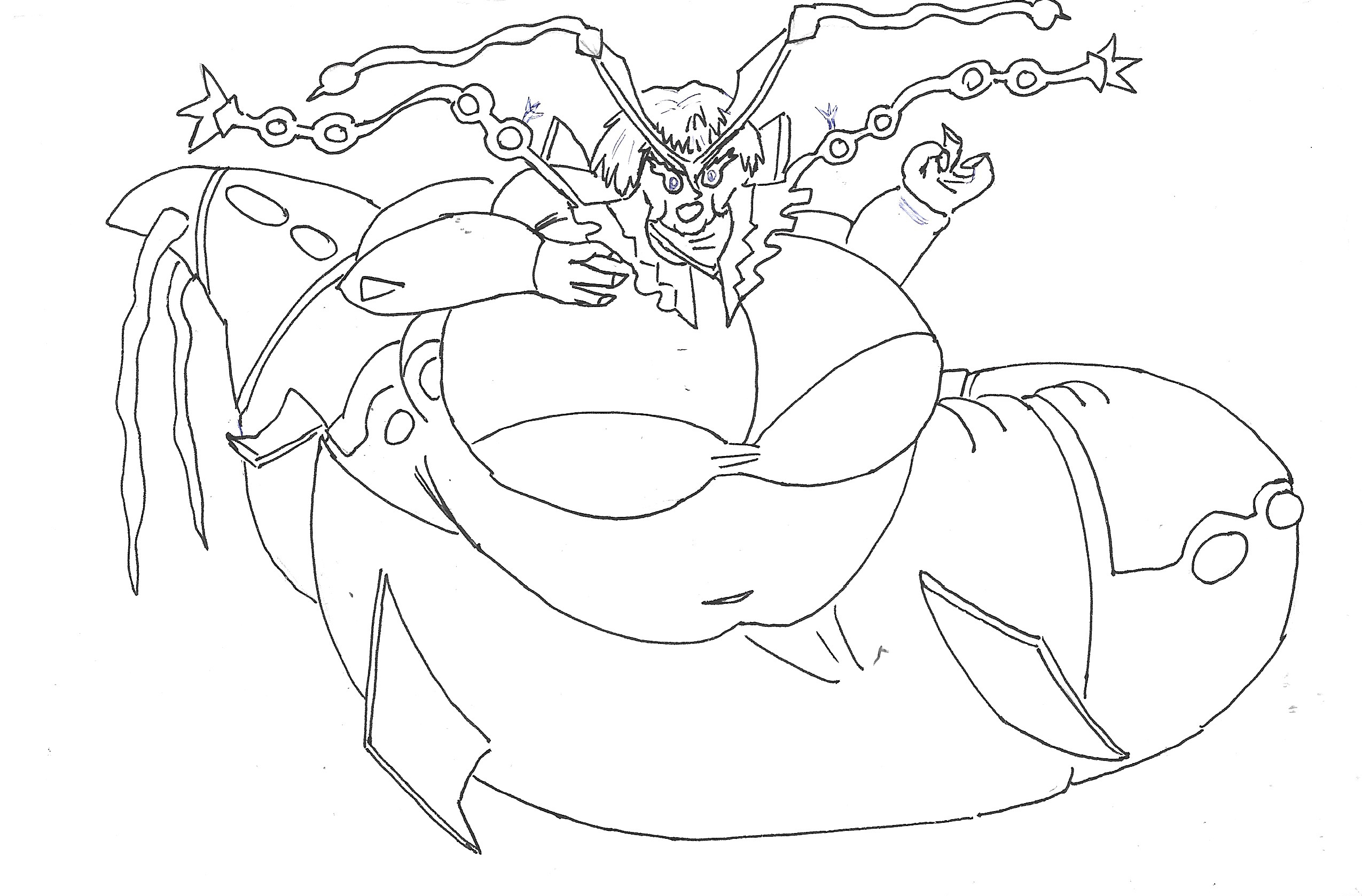 Pokemon coloring pages mega rayquaza - Isosduke 3 6 Rq Fat Mega Rayquaza Girl By Serlink12