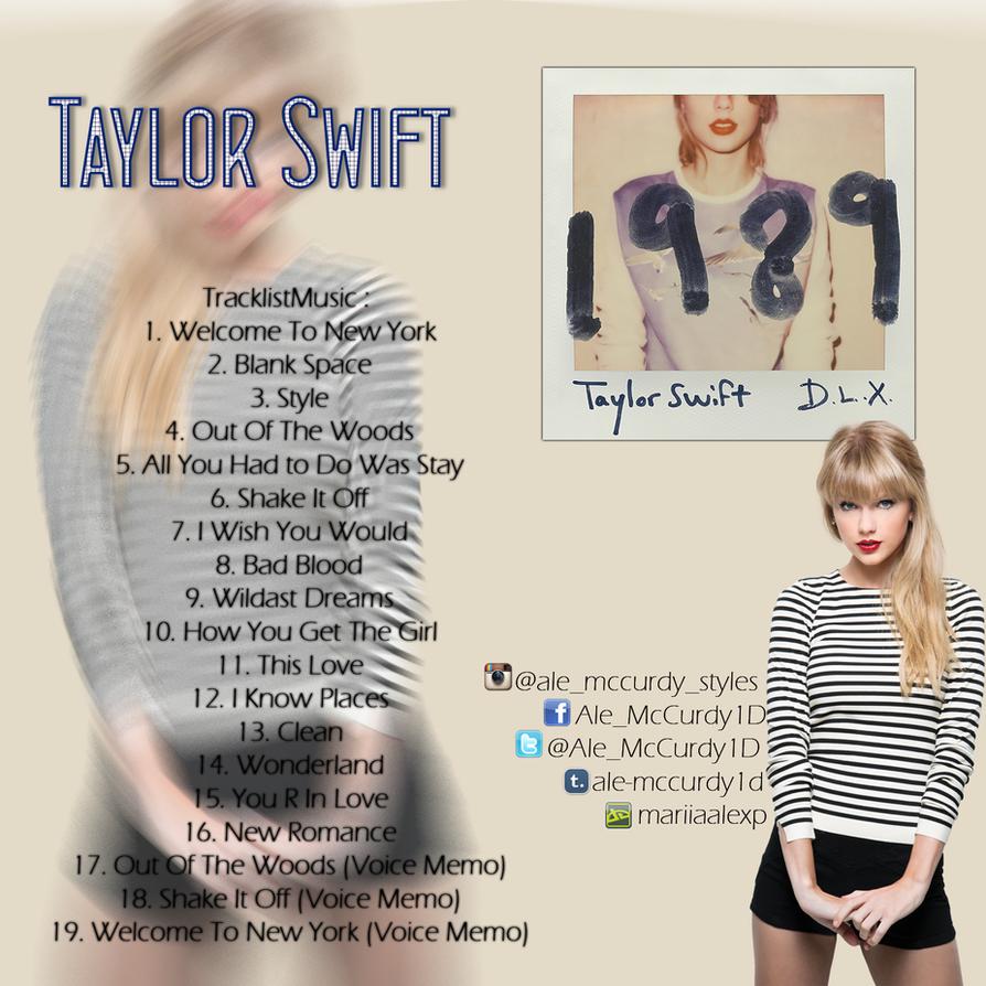 Taylor Swift - 1989 (CD completo) by MariiaAleXP on DeviantArt