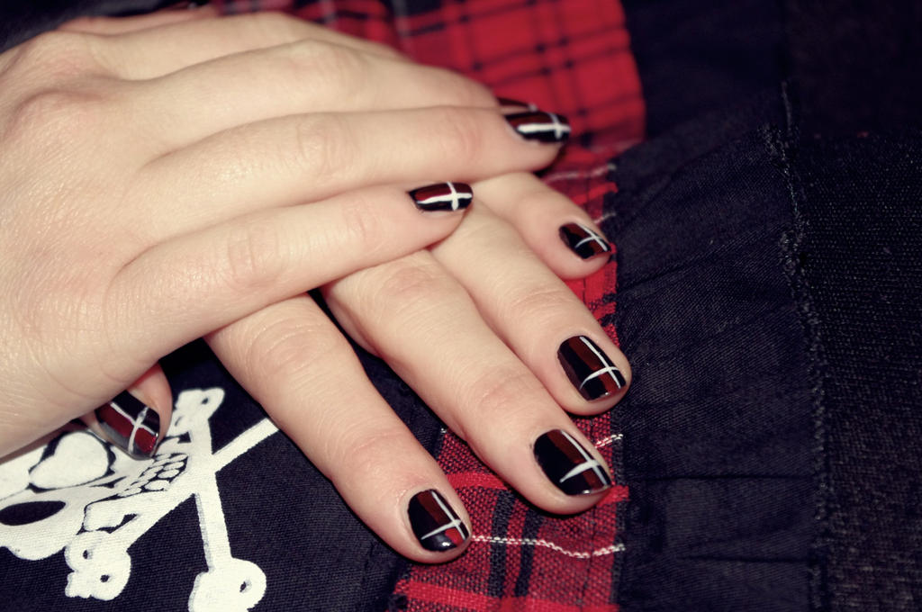 Gothic Nails by First-Rose on DeviantArt