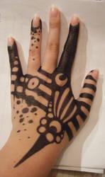 Sharpie tattoo 3 by LittleIggyDog