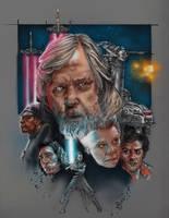 The Last Jedi by saintworksart