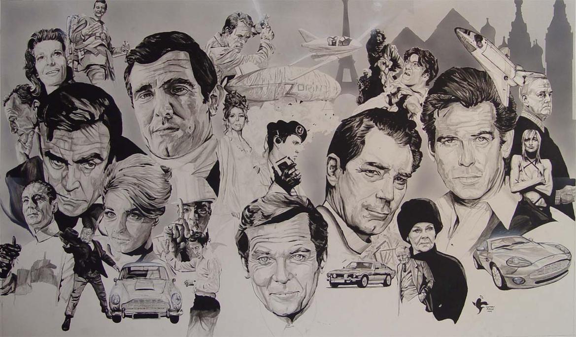 James Bond Legacy by saintworksart