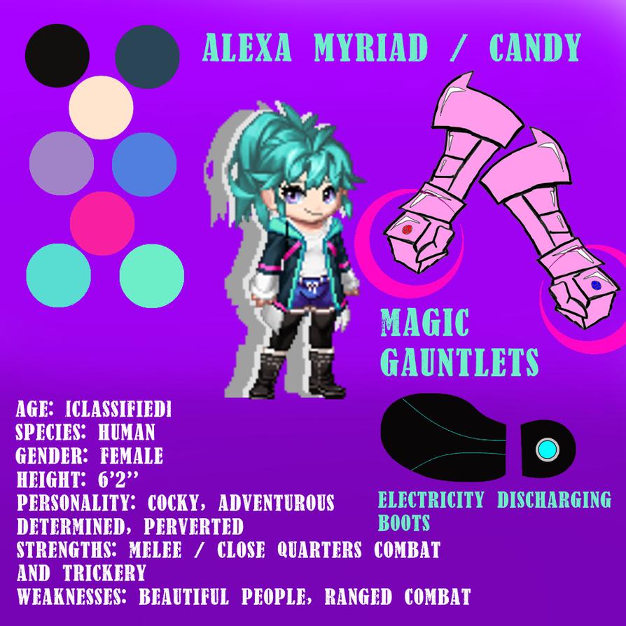 Alexa Myriad / Candy REF SHEET by Mr-AD