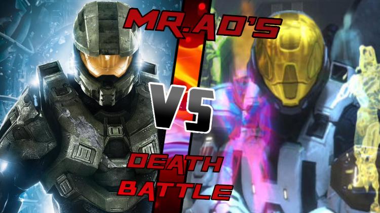 Master Chief VS The Meta by Mr-AD