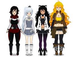 Team RWBY - AD Edition