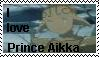 I love Prince Aikka stamp by SakisRouvas