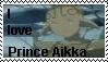 I love Prince Aikka stamp by SakisRouvas