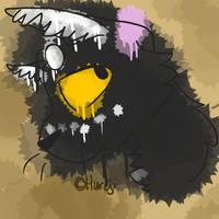  Request  Watercolour Batsplash by Hureji