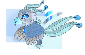 Icy Flames - Quokkotail Auction #3 by Hureji
