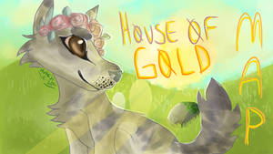 House Of Gold MAP Card by Hureji