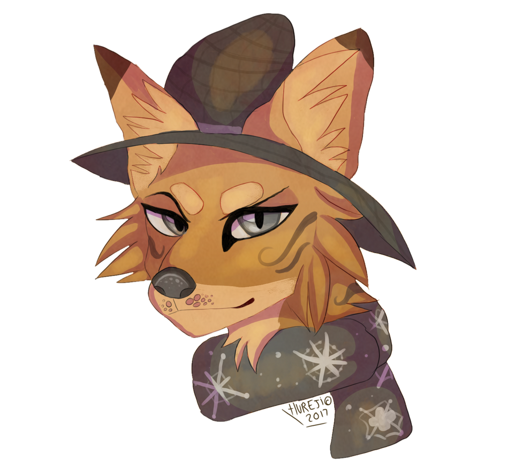 Hat and Scarf by Hureji