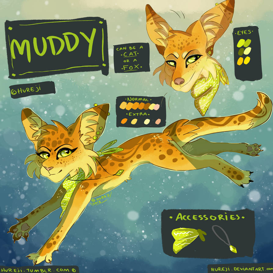 Reference | Muddy January 2018 by Hureji
