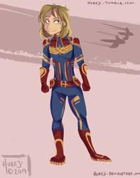 captain marvel!! by Hureji