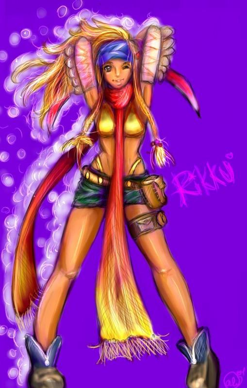 Rikku by AstuteObservations