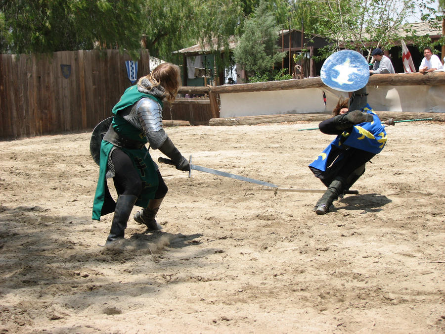 More Knight Joust Stock 016