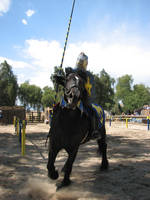 EvenMore Knight Joust Stock 14 by tursiart