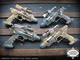 Flux Pistols Customs by tursiart