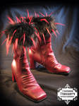 Abbagoochie Leather Boots