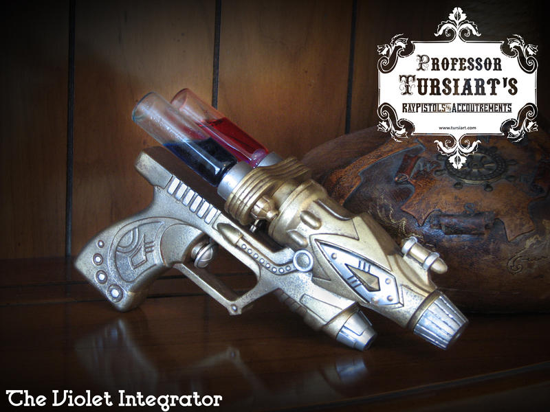 The Violet Integrator by tursiart