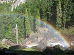 Free Stock Yosemite Rainbow